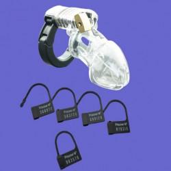 Męski pas cnoty - regulowany pierścień zaciskowy