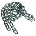 Metalowy łańcuch do sesji BDSM - 1 metr