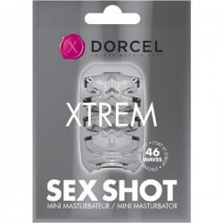 Marc Dorcel Sex Shot Xtrem masturbator w formie rozciągliwej nakładki na członka