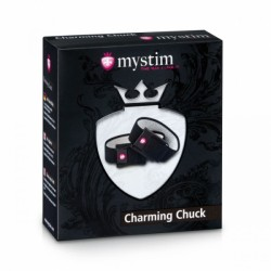 Elektro opaski przewodzące na jądra i penisa Charming Chuck