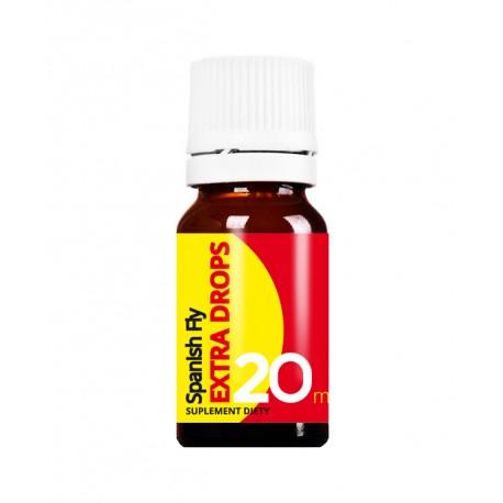 Spanish Fly Extra Drops 20 ml - hiszpańska mucha najbardziej znany afrodyzjak