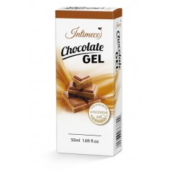 Intimeco Chocolate Gel 50 ml lubrykant do miłosci francuskiej