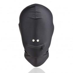 Zabudowana maska z otworami na usta i nos