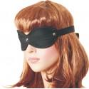 Czarna bawełniana maska bez otworów