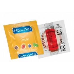 Przezerwatywa truskawkowa Pasante Flavours Strawberry 1 szt.