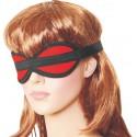 Czarna maska bez otworów