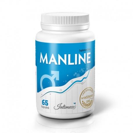 MANLINE 65 CAPS – preparat poprawiający witalność i aktywność seksualną