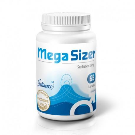 MegaSizer 65caps - preparat wzmacniający erekcję oraz powiększający