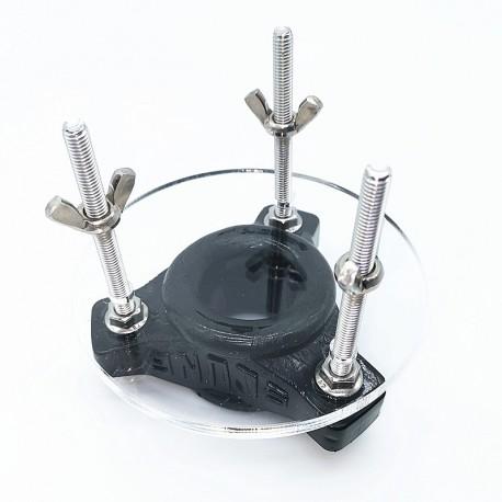 Urządzenie do tortur jąder OXBALLS black