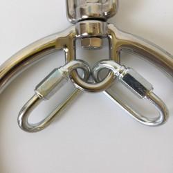Profesjonalny stalowy ring Shibari