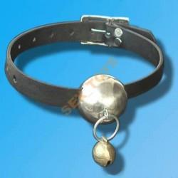 Knebel z kulką metalową i dzwoneczkiem