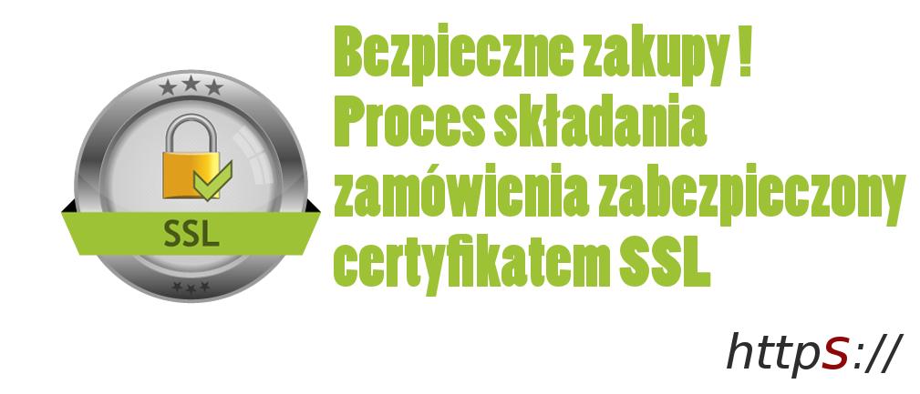 Szyfrowane zakupy certyfikatem SSL